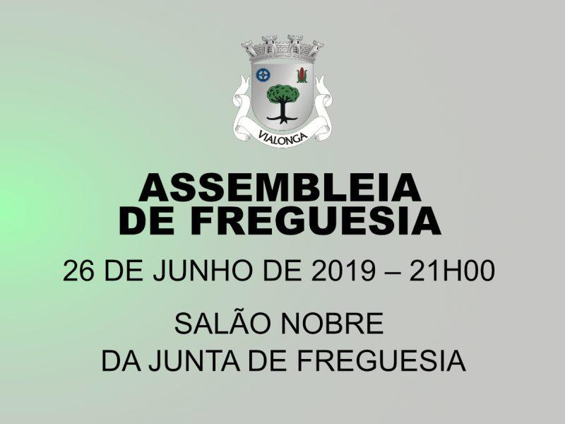 Reunião da Assembleia de Freguesia