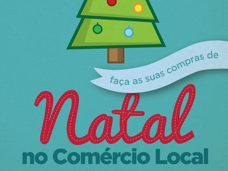 Natal no Comércio local