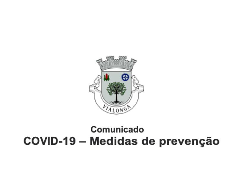 COVID-19 – Medidas de prevenção
